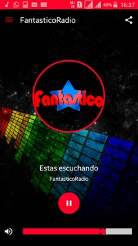 Descarga la app https://play.google.com/store/apps/details?id=ilive.FantasticoRadio&hl=es_AR